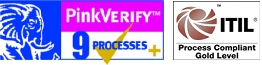 OMNITRACKER Pink Verify / ITIL Process Compliant Gold Level